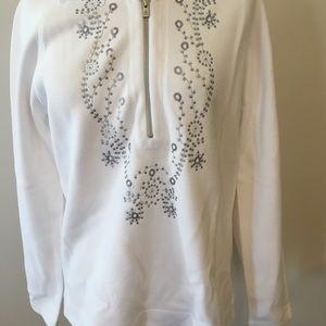 Tommy Bahama medium pullover white